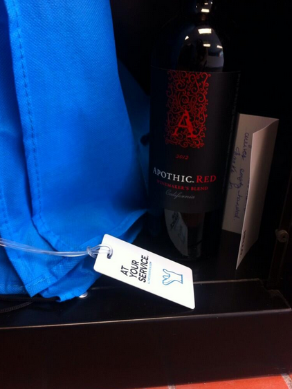 Apothic wine giveaways